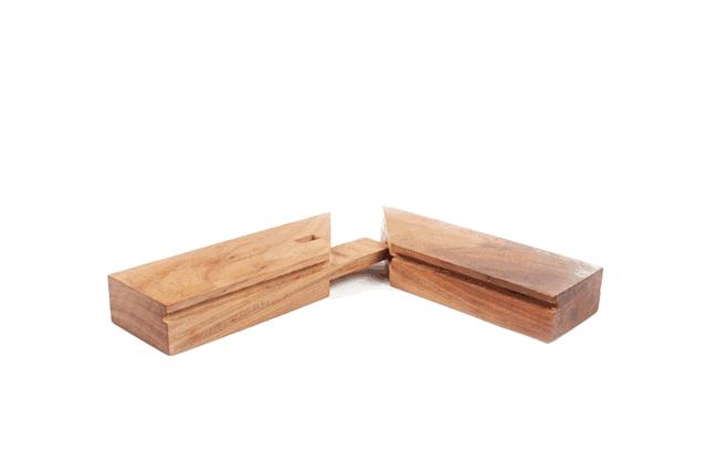 在古代,榫卯工艺是传统工匠必备的技艺,做出的榫卯结构能够直接反映